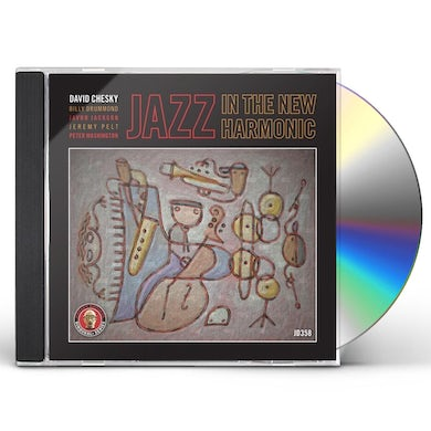 David Chesky JAZZ IN THE NEW HARMONIC CD