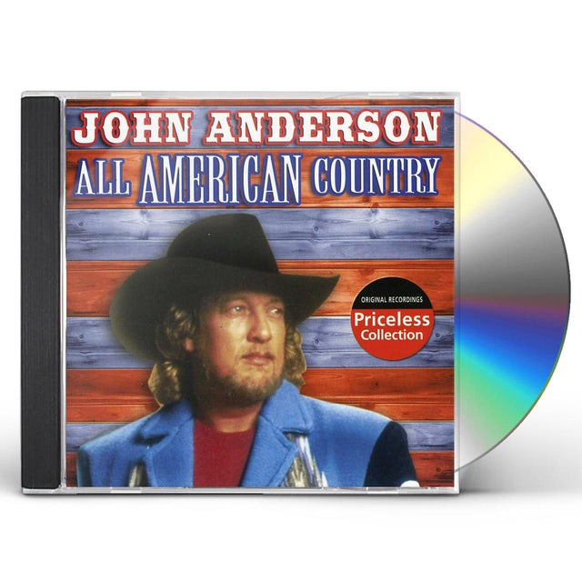 John Anderson ALL AMERICAN COUNTRY CD