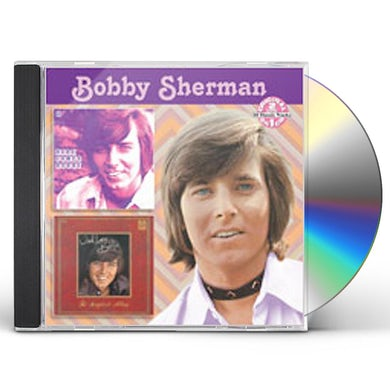 Bobby Sherman HERE COMES BOBBY / WITH LOVE BOBBY CD