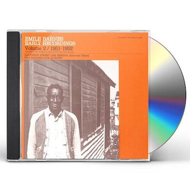 EMILE BARNES: EARLY RECORDINGS 2 (1951-1952) CD
