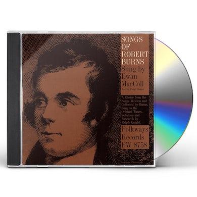 Ewan MacColl SONGS OF ROBERT BURNS CD