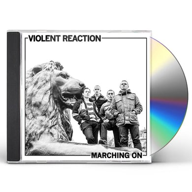 Violent Reaction MARCHING ON CD
