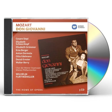 Wilhelm Furtwangler MOZART: DON GIOVANNI (LIVE AT SALZBURG 1954) CD