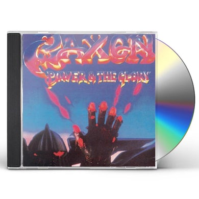 Saxon POWER & THE GLORY CD