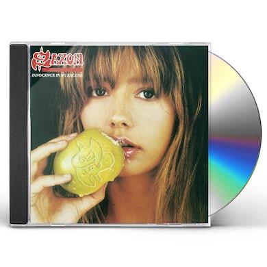 Saxon INNOCENCE IS NO EXCUSE CD