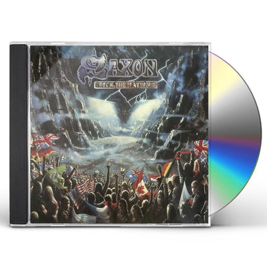 Saxon ROCK THE NATIONS CD
