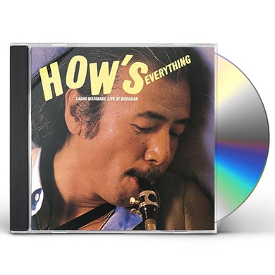 HOW'S EVERYTHING: SADAO WATANABE LIVE AT BUDOKAN CD