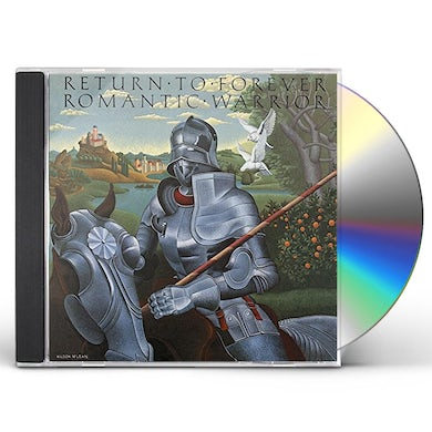 Return To Forever ROMANTIC WARRIOR CD