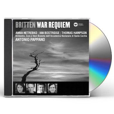 Antonio Pappano BRITTEN: WAR RREQUIEM CD