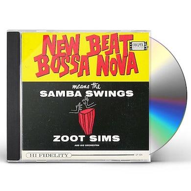 Zoot Sims NEW BEAT BOSSA NOVA CD
