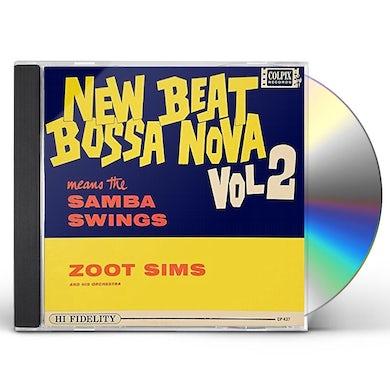 Zoot Sims NEW BEAT BOSSA NOVA 2 CD