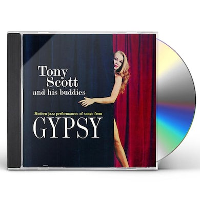 Tony Scott GYPSY CD