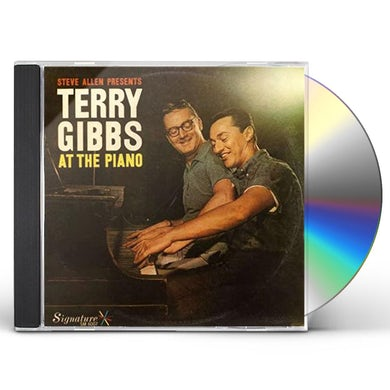 STEVE ALLEN PRESENTS TERRY GIBBS AT THE PIANO CD