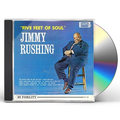 Jimmy Rushing FIVE FEET OF SOUL CD