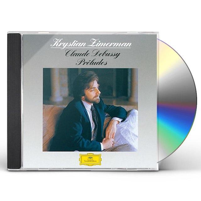 Debussy / Krystian Zimerman DEBUSSY: PRELUDES CD