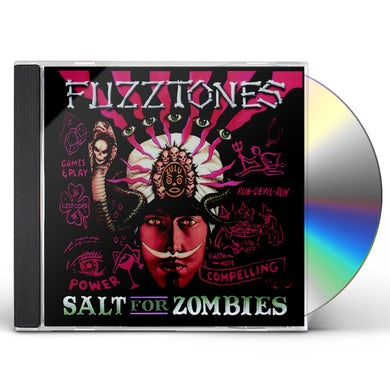 The Fuzztones SALT FOR ZOMBIES CD