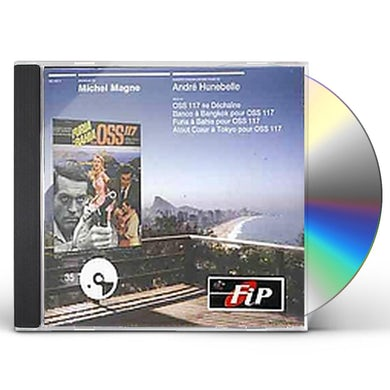 Michel Magne DES FILMS DE ANDRE HUNEBELLE CD