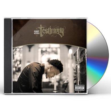 August Alsina TESTIMONY CD