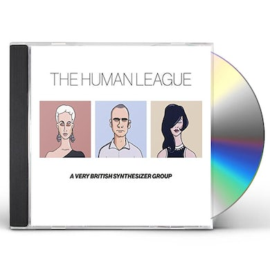 The Human League ANTHOLOGY: VERY BRITISH SYNTHESIZER CD