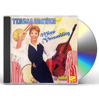 Teresa Brewer MISS VERSATILITY - 3 LPS: WHEN THE LOVER HAS GONE CD