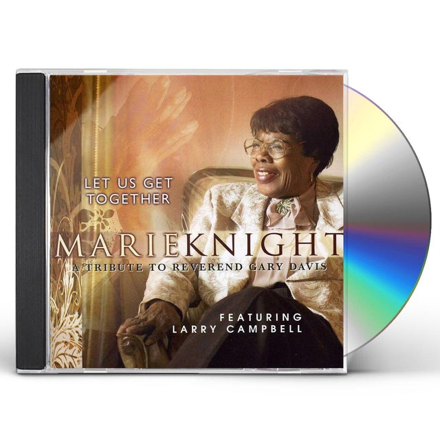 Marie Knight LET US GET TOGETHER CD