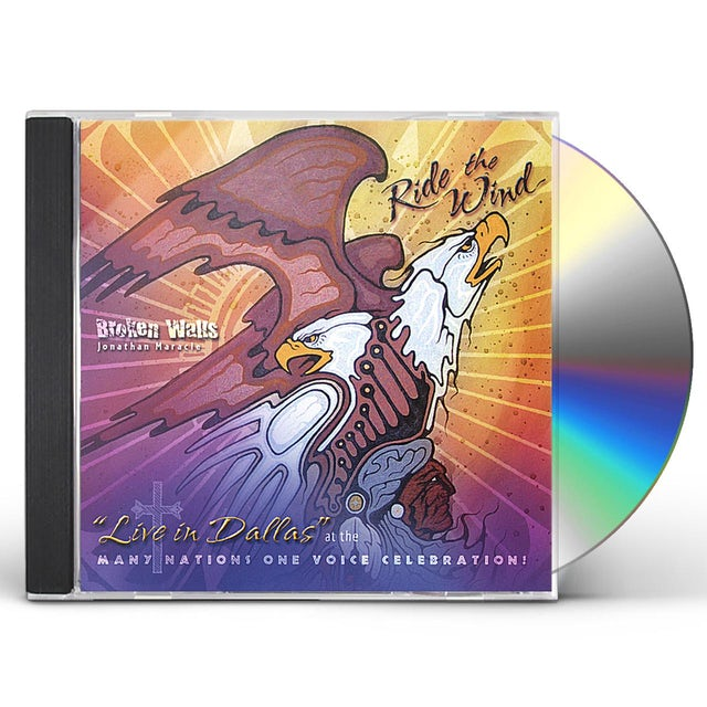 Broken Walls RIDE THE WIND CD