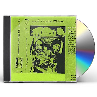 Inept WE'RE LESS POPULAR THAN JESUS NOW CD