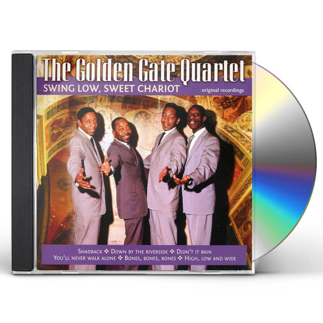 Golden Gate Quartet SING LOW SWEET CHARIOT CD