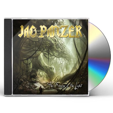 Jag Panzer SCOURGE OF THE LIGHT CD