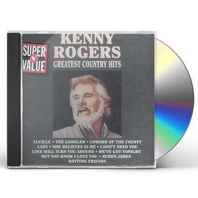 Kenny Rogers Greatest Country Hits CD