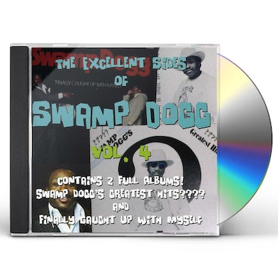 EXCELLENT SIDES OF SWAMP DOGG 4 CD