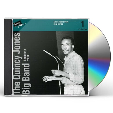 Quincy Jones SWISS RADIO DAYS JAZZ SERIES 1 CD