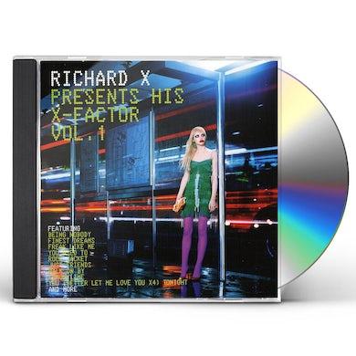 Richard X PRESENTS HIS X-FACTOR 1 CD