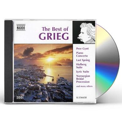 BEST OF GRIEG CD