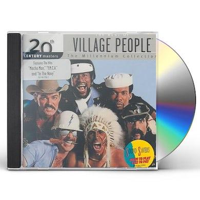 Village People 20TH CENTURY MASTERS: MILLENNIUM CD