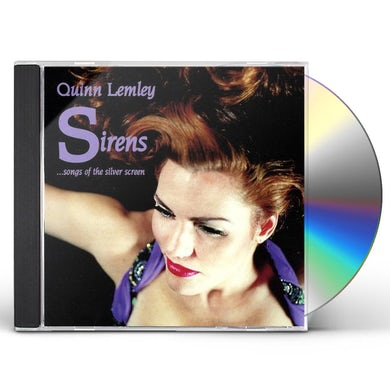 Quinn Lemley SIRENS SONGS OF THE SILVER SCREEN CD
