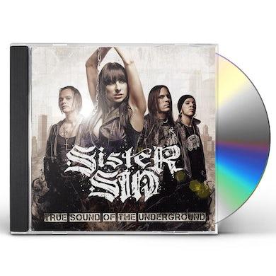 Sister Sin TRUE SOUND OF THE UNDERGROUND CD