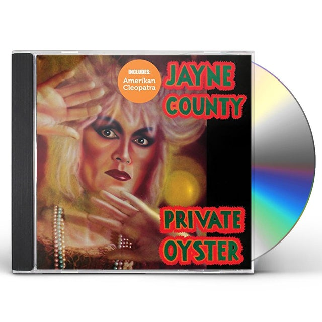 Jayne County AMERIKAN CLEOPATRA / PRIVATE OYSTER CD
