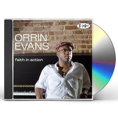 Orrin Evans FAITH IN ACTION CD