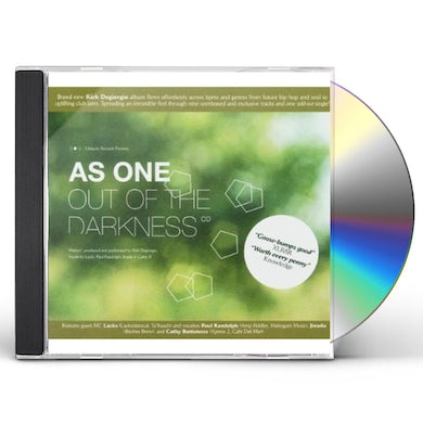 As One OUT OF THE DARKNESS CD