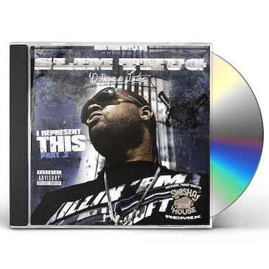 Slim Thug I REPRESENT THIS 2 CD
