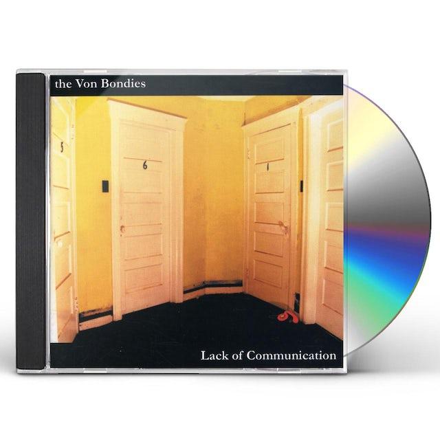 Von Bondies LACK OF COMMUNICATION CD