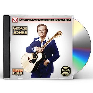 George Jones 20 ORIGINAL RECORDINGS CD