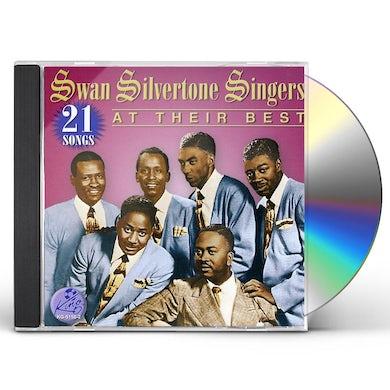 Swan Silvertones AT THEIR BEST-21 SONGS CD