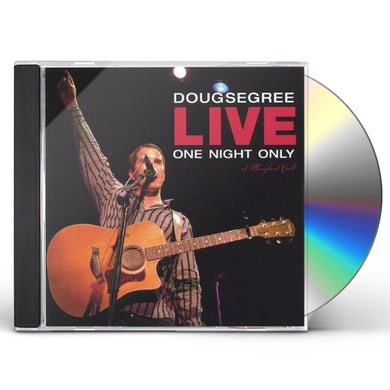 Doug Segree LIVE-ONE NIGHT ONLY CD