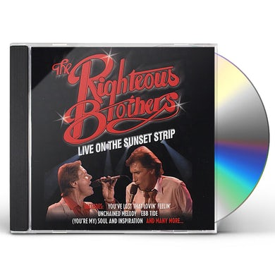 RIGHTEOUS BROTHERS: LIVE ON SUNSET STRIP CD