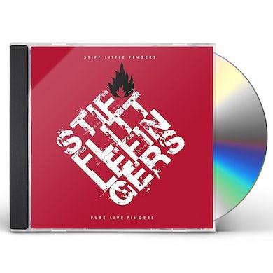 Stiff Little Fingers PURE LIVE FINGERS CD