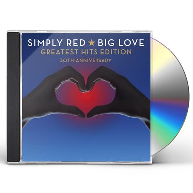 Simply Red BIG LOVE-GREATEST HITS EDITION: 30TH ANNIVERSARY CD