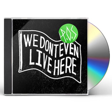 P.O.S We Dont Even Live Here CD