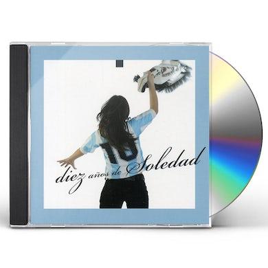 10 ADOS DE SOLEDAD (2CD) CD